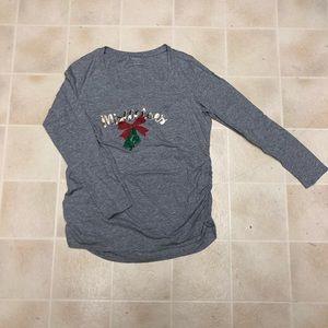 Tops - 👶🏼 motherhood maternity Christmas shirt
